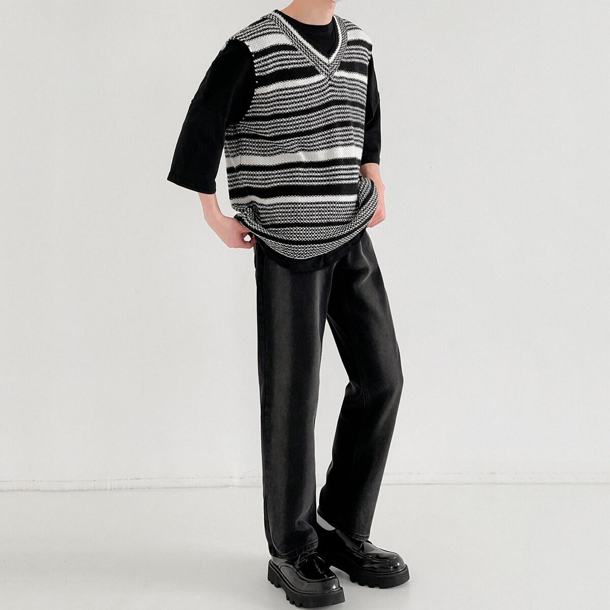 Жилет DAZO Studio Striped Knit Vest (4)