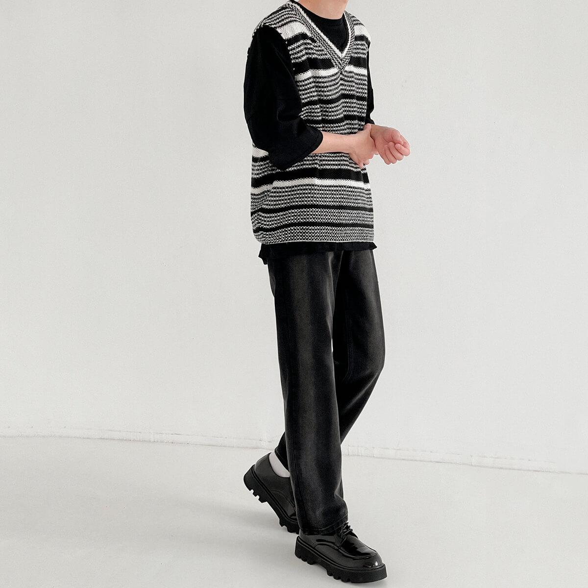 Жилет DAZO Studio Striped Knit Vest (5)