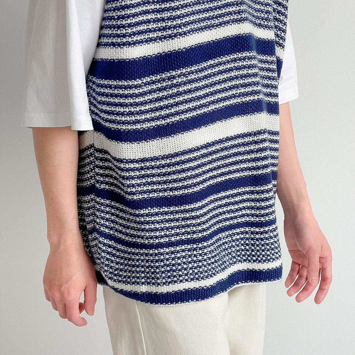 Жилет DAZO Studio Striped Knit Vest (8)