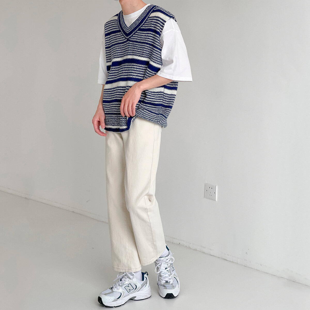 Жилет DAZO Studio Striped Knit Vest (9)