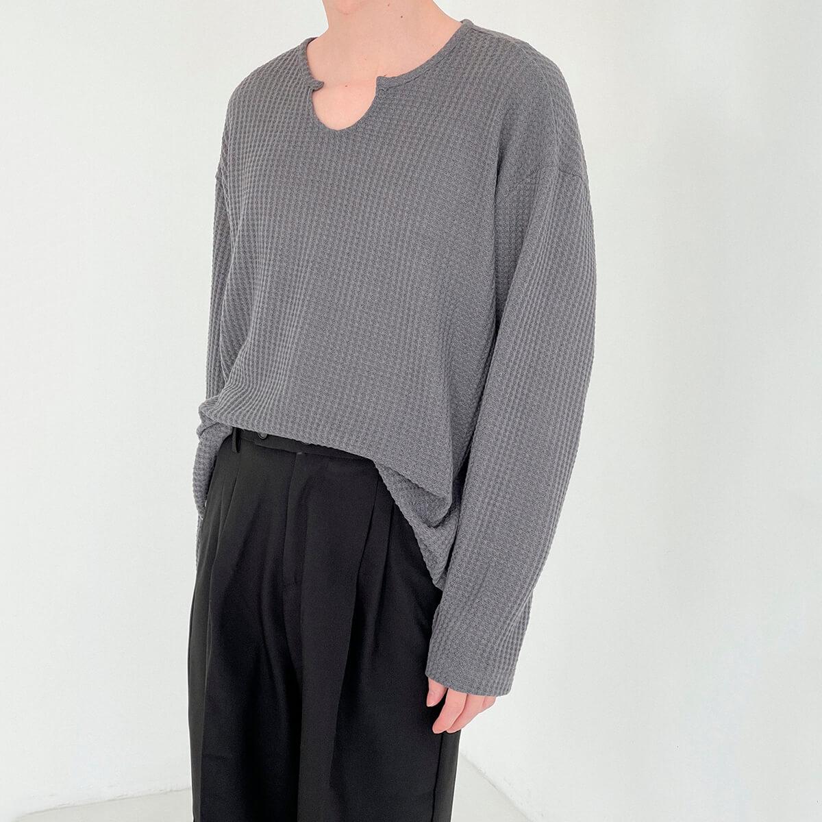 Лонгслив DAZO Studio Textured Long Sleeve Custom Neckline (1)