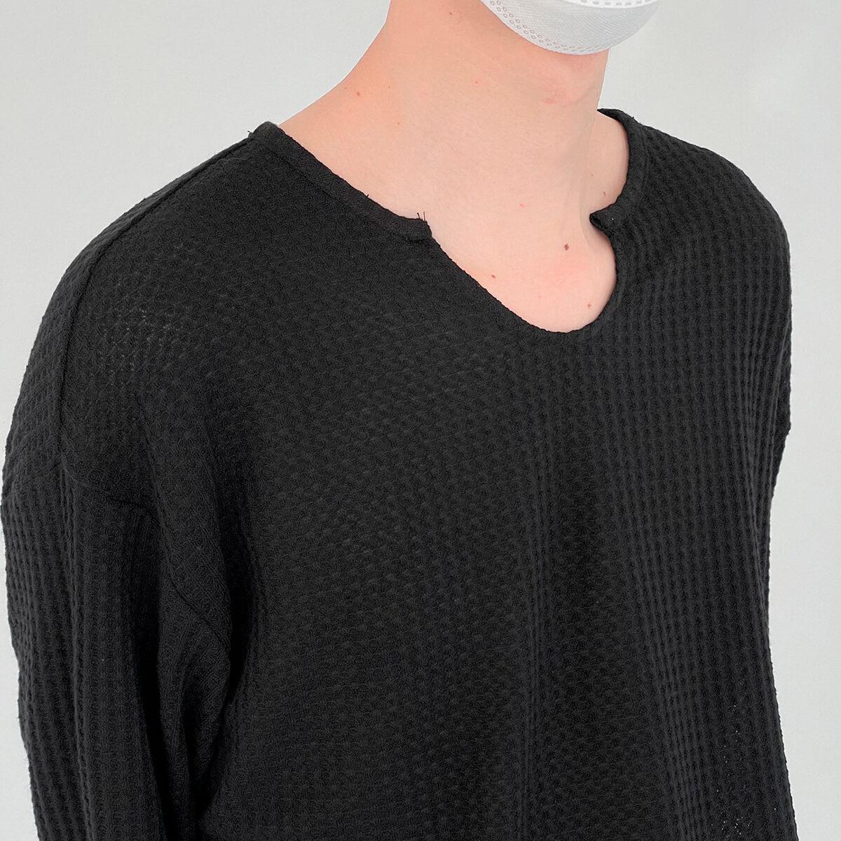 Лонгслив DAZO Studio Textured Long Sleeve Custom Neckline (12)