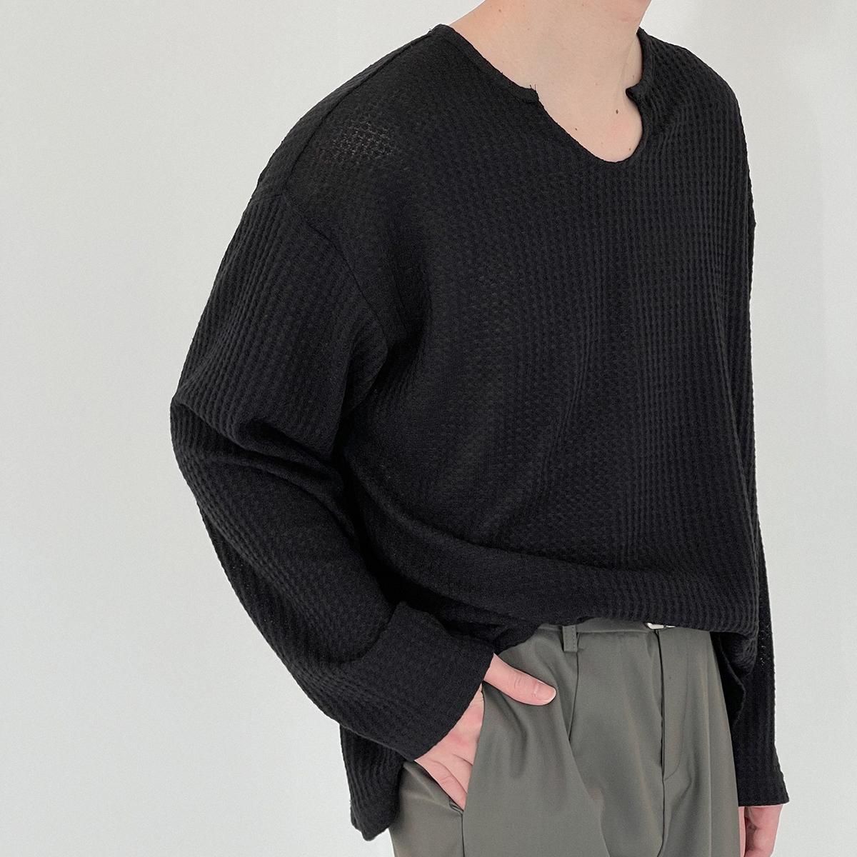 Лонгслив DAZO Studio Textured Long Sleeve Custom Neckline (13)