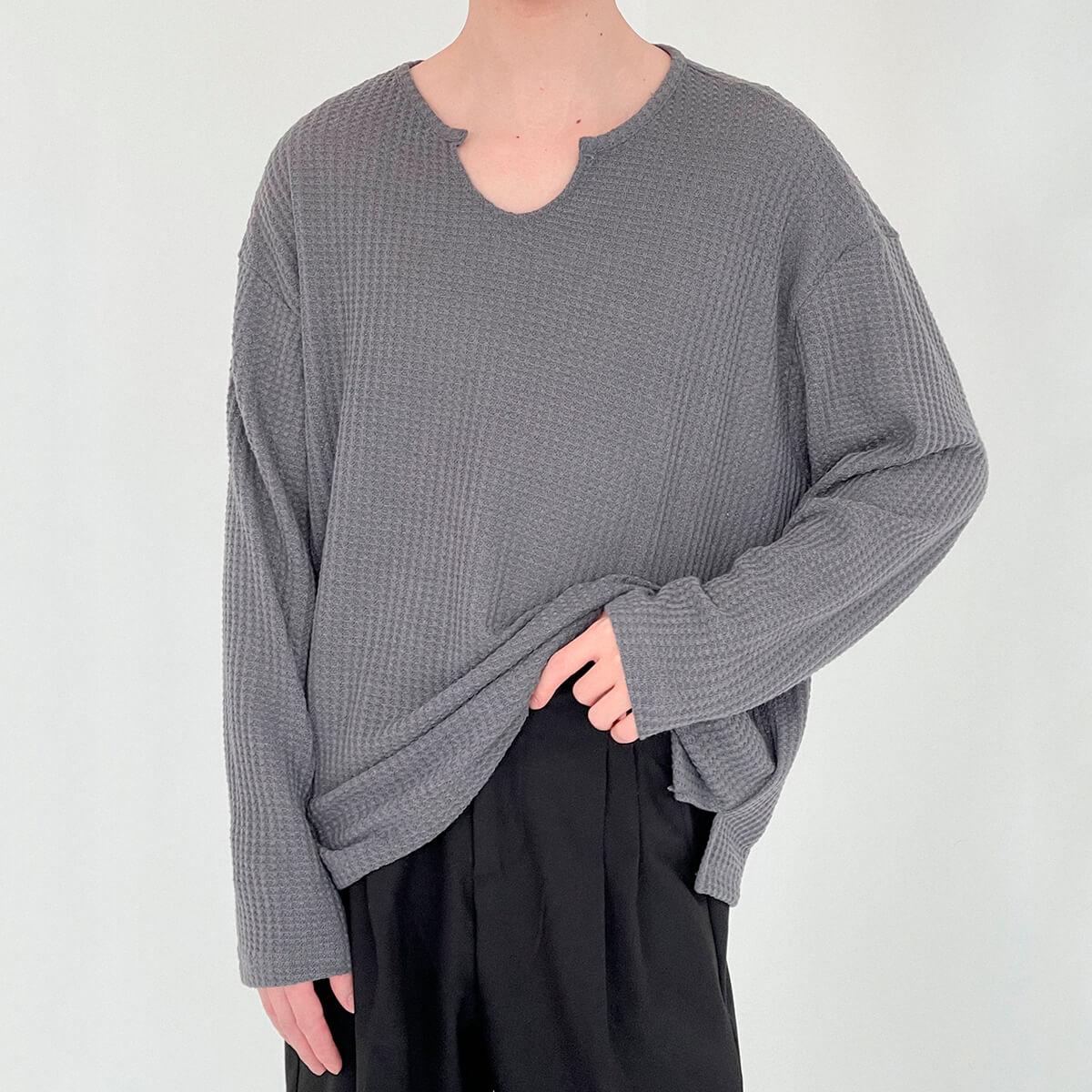 Лонгслив DAZO Studio Textured Long Sleeve Custom Neckline (2)