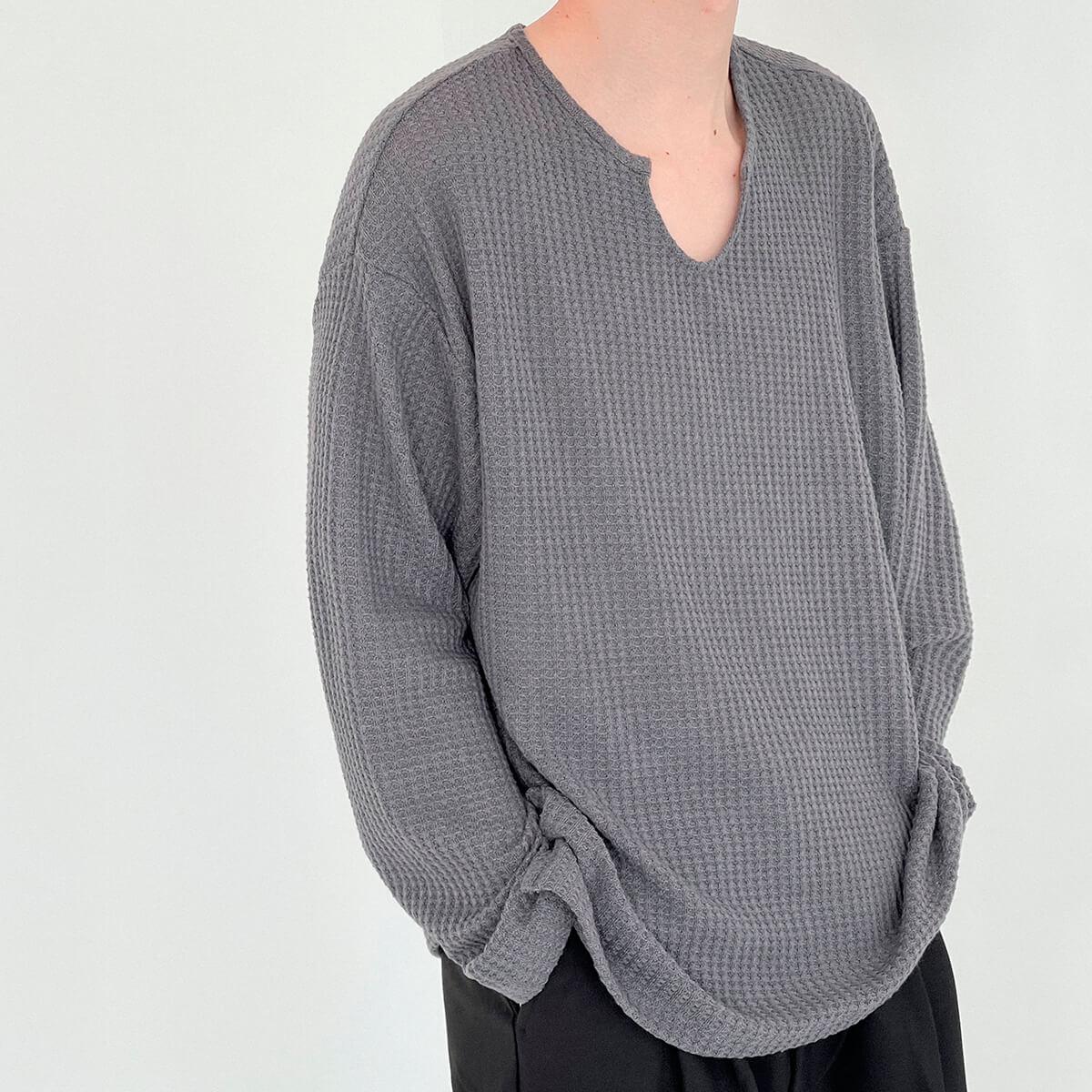 Лонгслив DAZO Studio Textured Long Sleeve Custom Neckline (3)