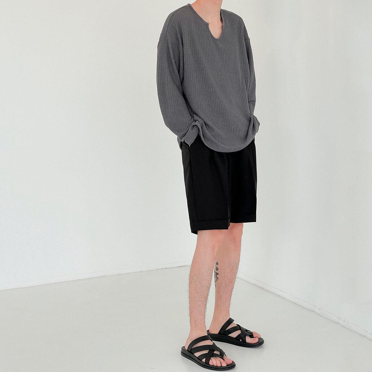 Лонгслив DAZO Studio Textured Long Sleeve Custom Neckline (5)
