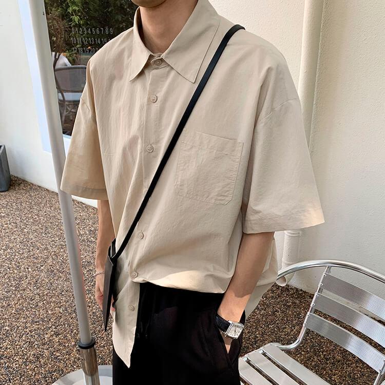 Рубашка Attitude Studio Shirt Minimalism Vertical Striped (12)