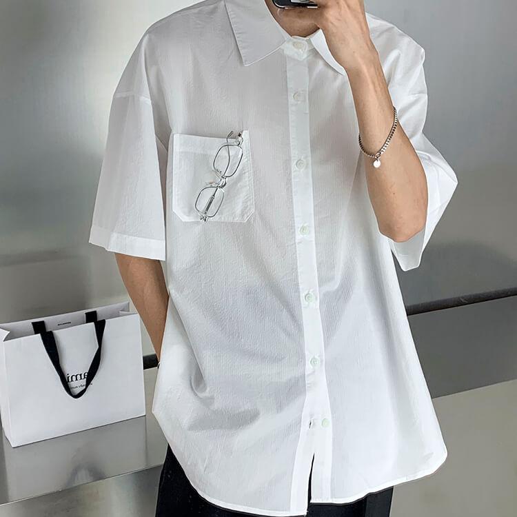 Рубашка Attitude Studio Shirt Minimalism Vertical Striped (17)
