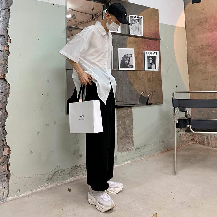 Рубашка Attitude Studio Shirt Minimalism Vertical Striped (19)