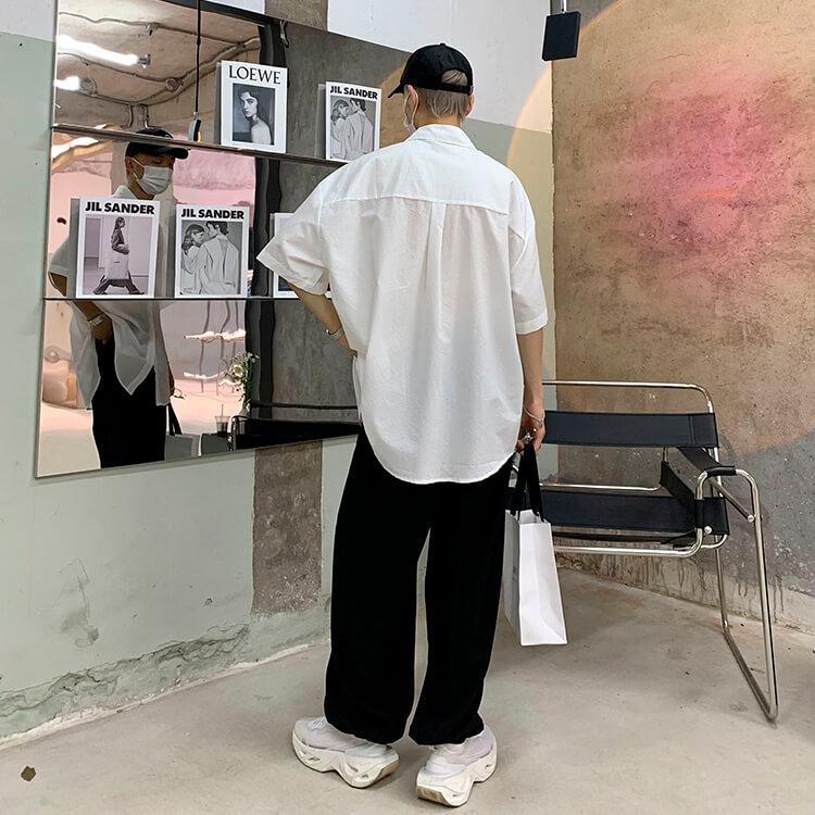 Рубашка Attitude Studio Shirt Minimalism Vertical Striped (20)