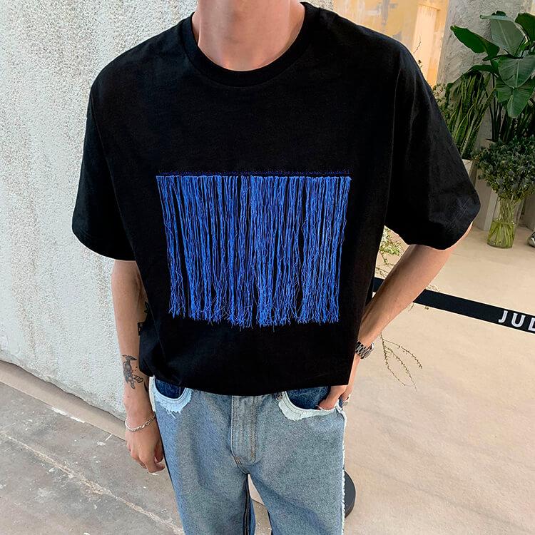 Футболка Attitude Studio Abstract Embroidery T-shirt (6)