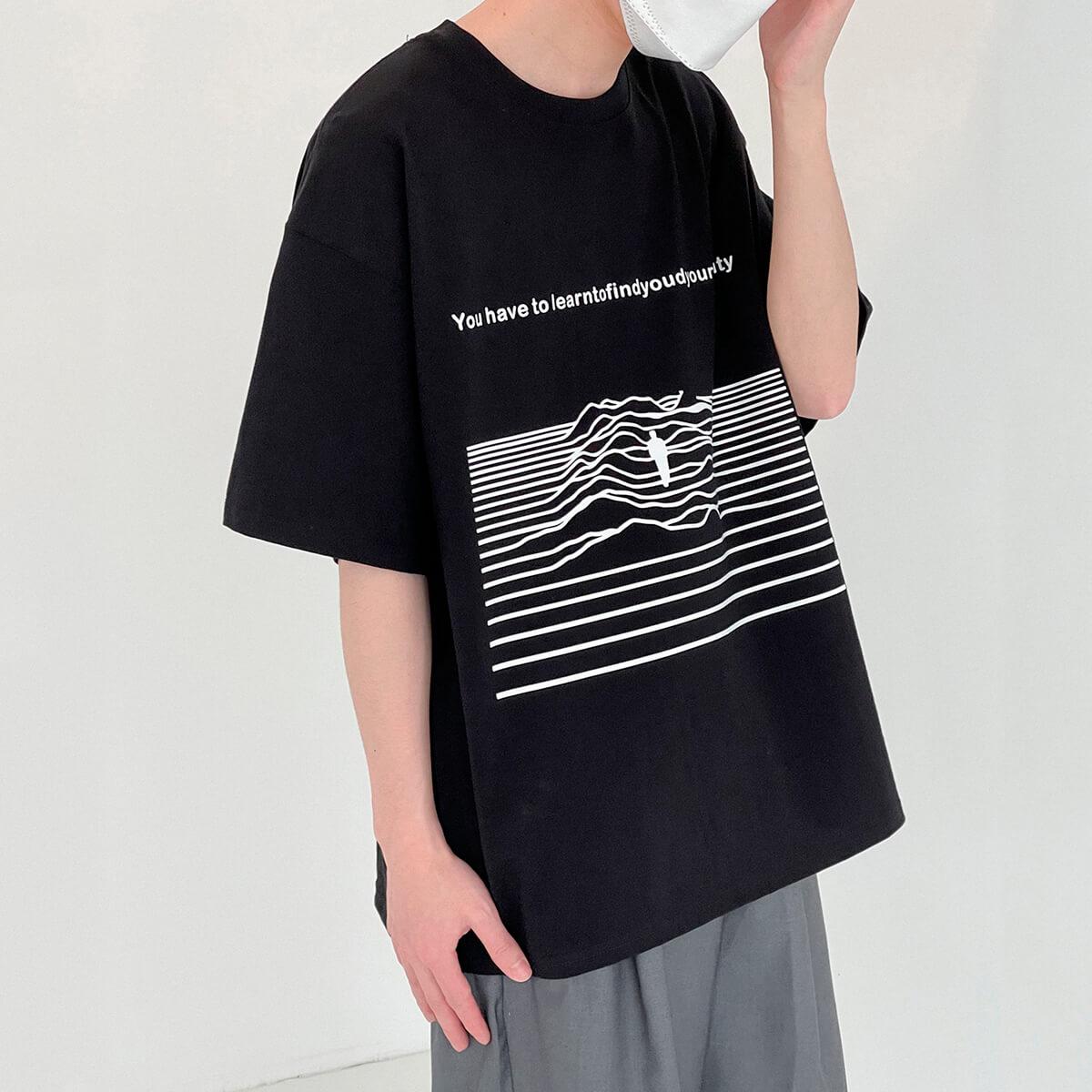 Футболка DAZO Studio Seeking Man T-shirt Print (1)