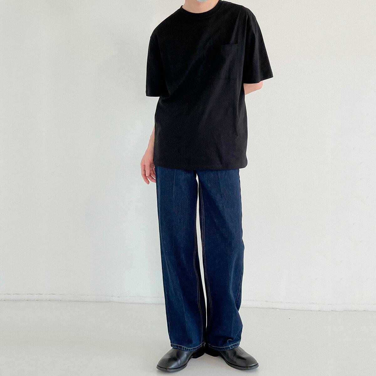 Футболка DAZO Studio Solid Colored Pocket T-shirt (16)