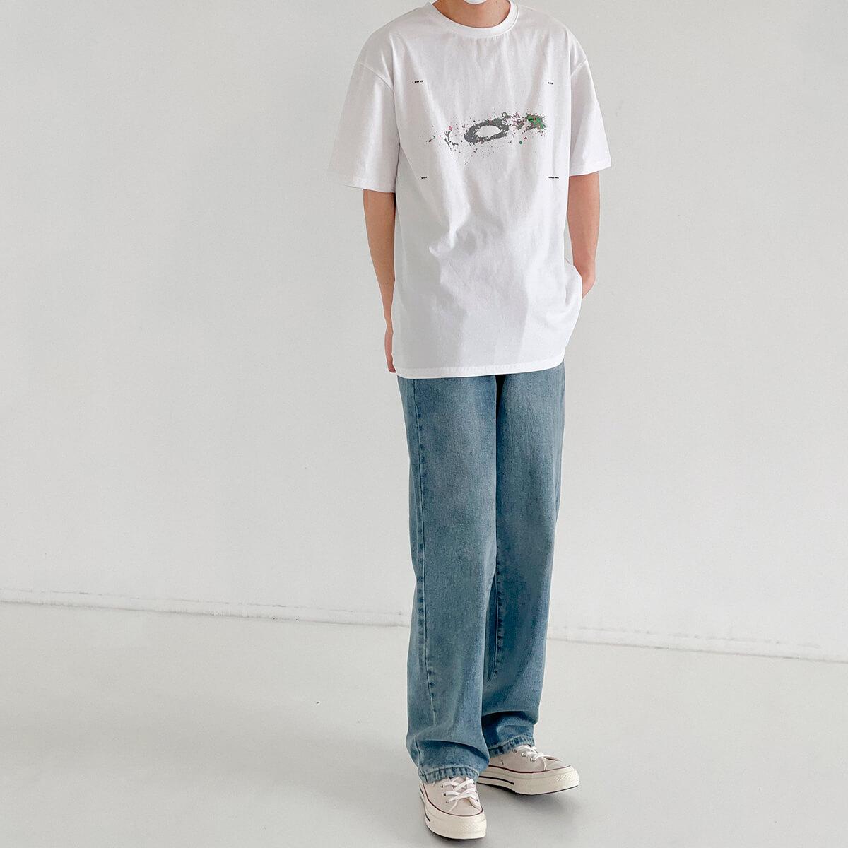 Футболка DAZO Studio Space Print T-shirt (10)