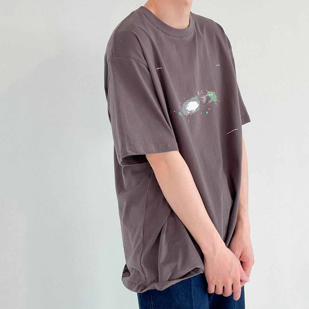 Футболка DAZO Studio Space Print T-shirt (13)