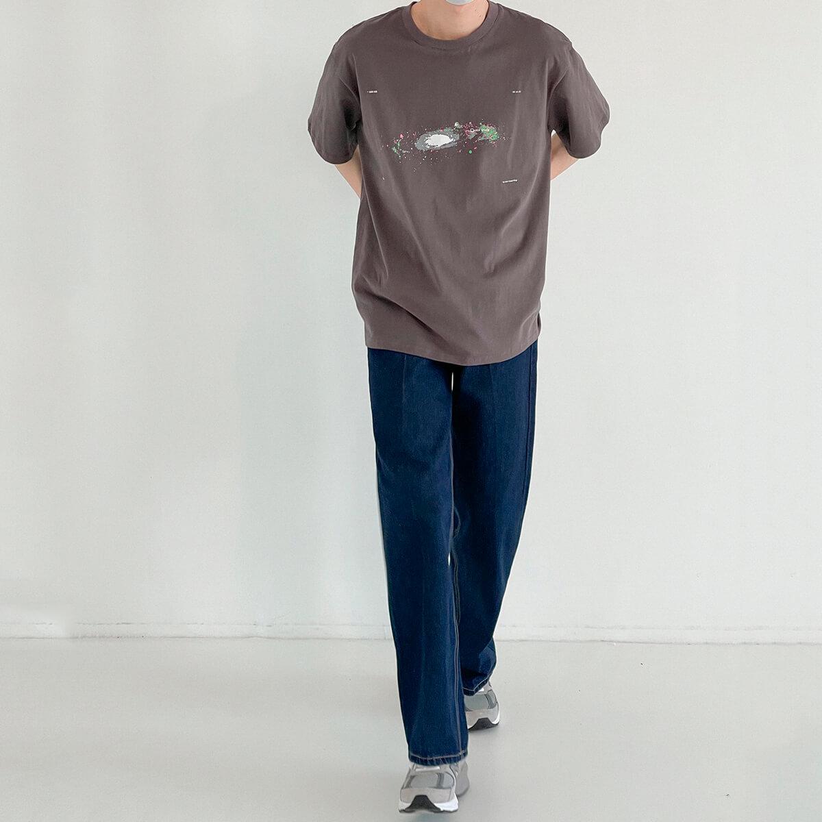 Футболка DAZO Studio Space Print T-shirt (14)