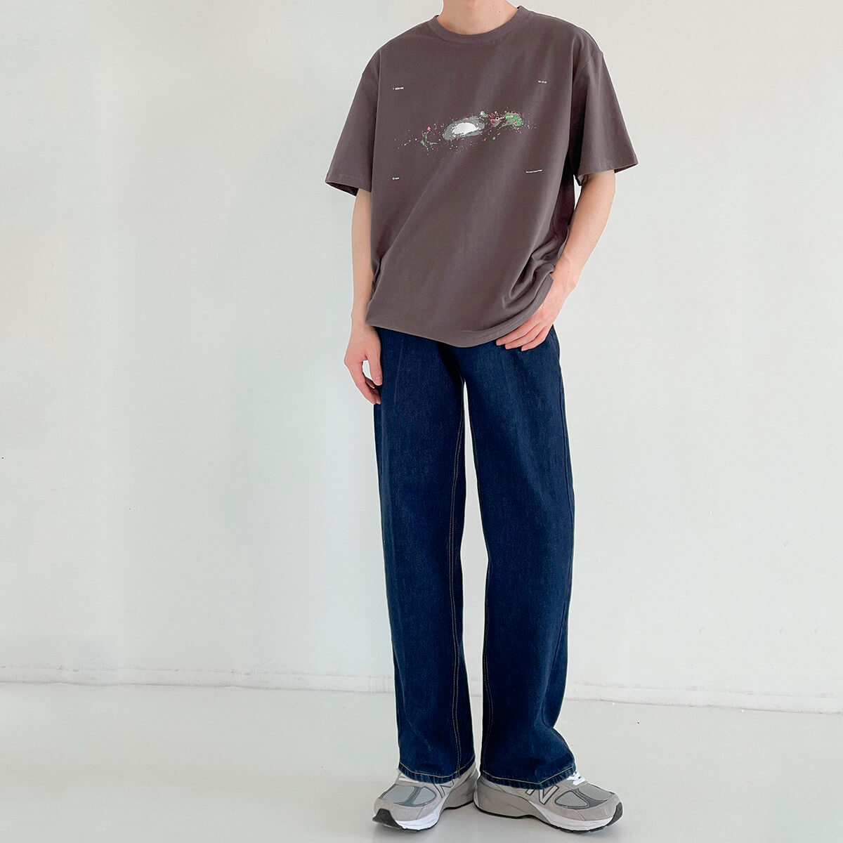 Футболка DAZO Studio Space Print T-shirt (15)