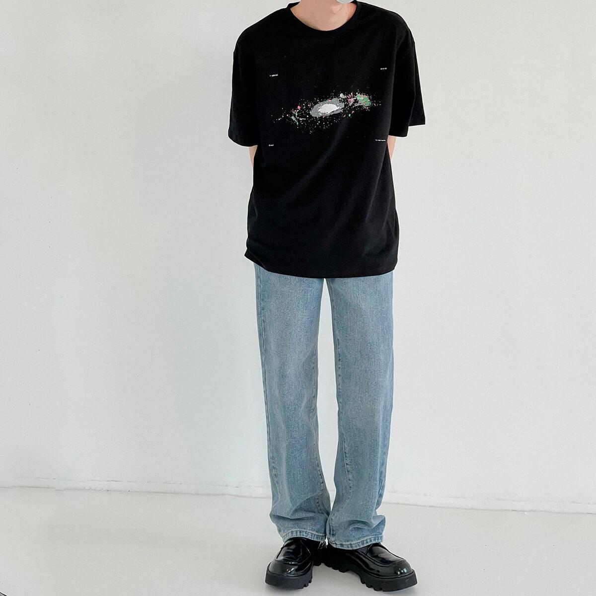 Футболка DAZO Studio Space Print T-shirt (4)