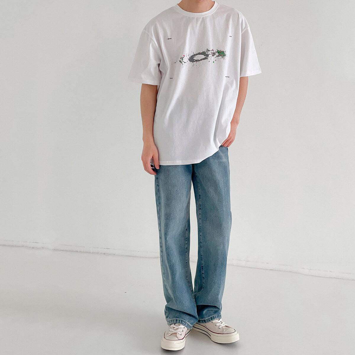 Футболка DAZO Studio Space Print T-shirt (9)