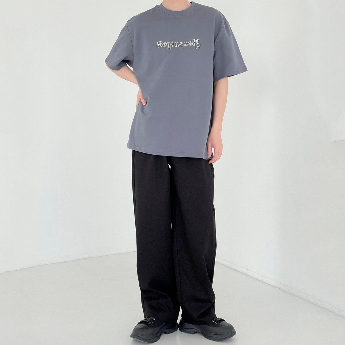 Футболка DAZO Studio T-shirt Embroidery Be Yourself (10)