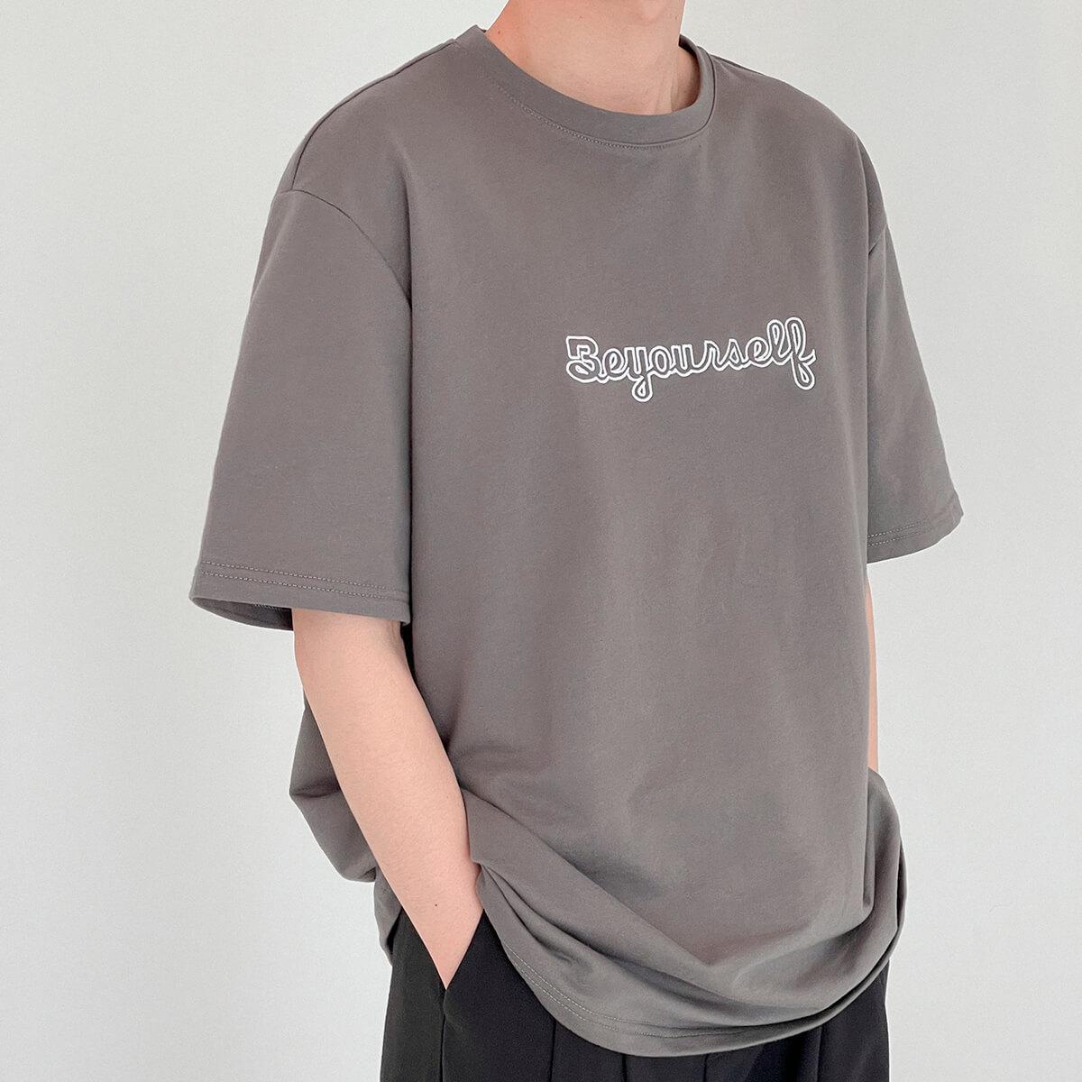 Футболка DAZO Studio T-shirt Embroidery Be Yourself (2)