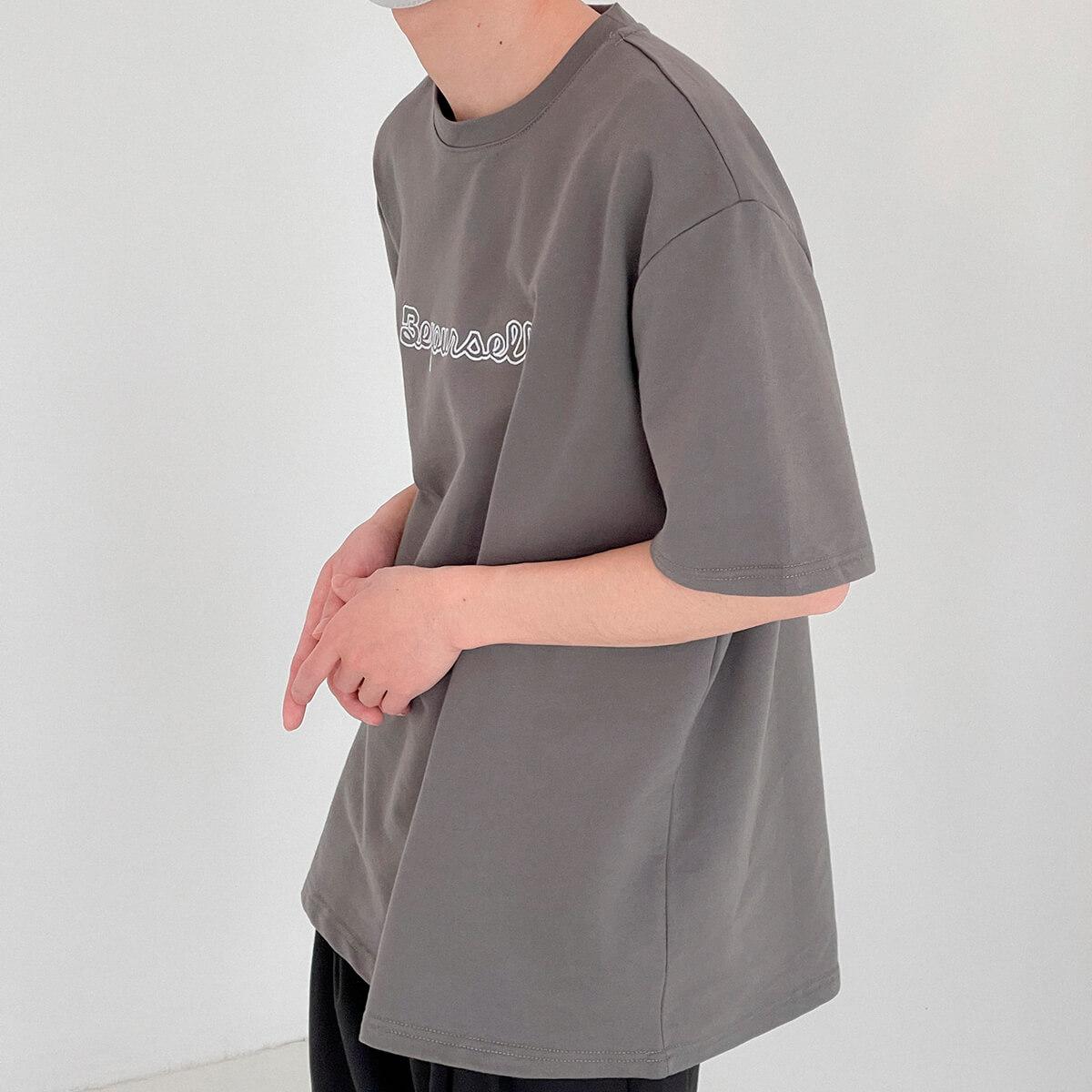 Футболка DAZO Studio T-shirt Embroidery Be Yourself (3)