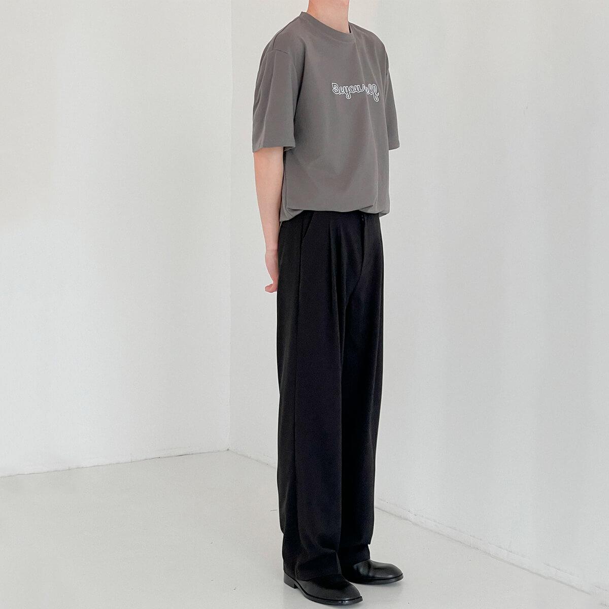 Футболка DAZO Studio T-shirt Embroidery Be Yourself (4)