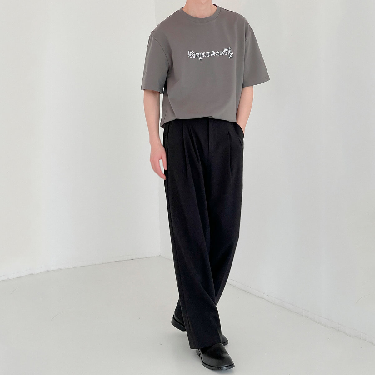 Футболка DAZO Studio T-shirt Embroidery Be Yourself (5)