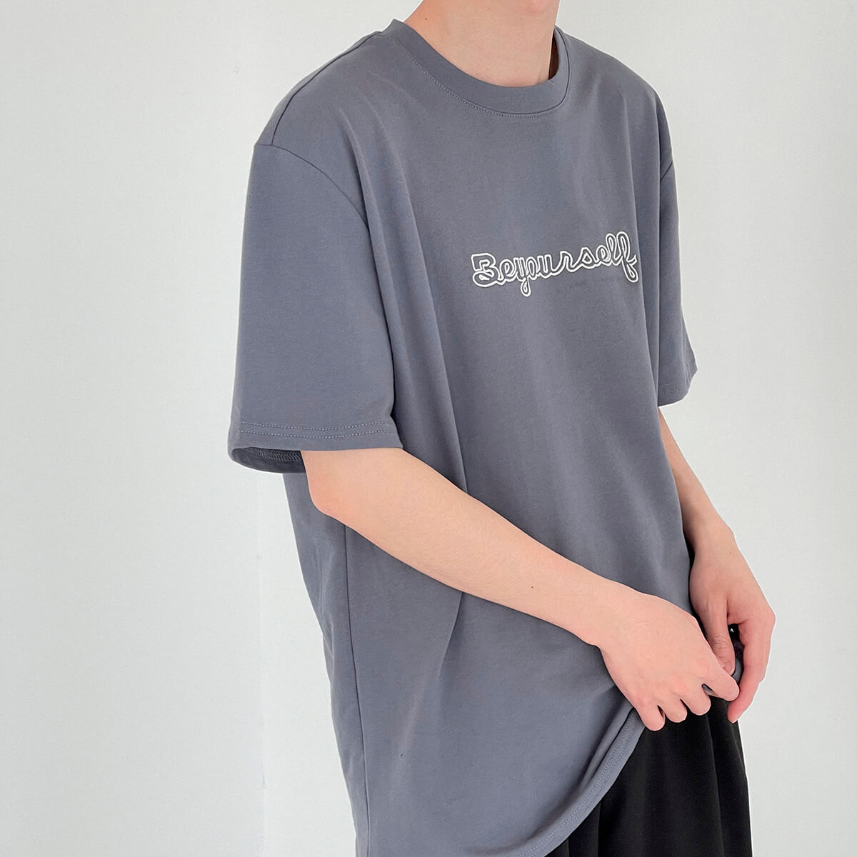 Футболка DAZO Studio T-shirt Embroidery Be Yourself (7)