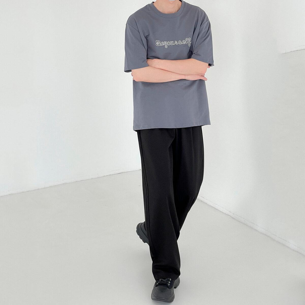 Футболка DAZO Studio T-shirt Embroidery Be Yourself (9)