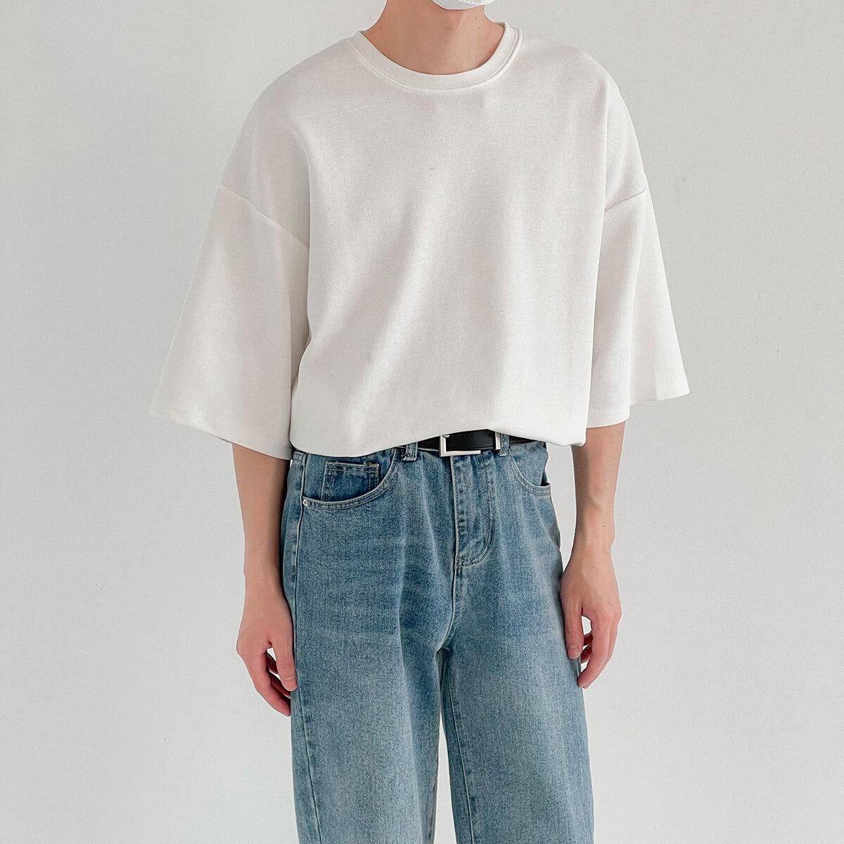 Футболка DAZO Studio Vertical Texture Oversize T-shirt (1)