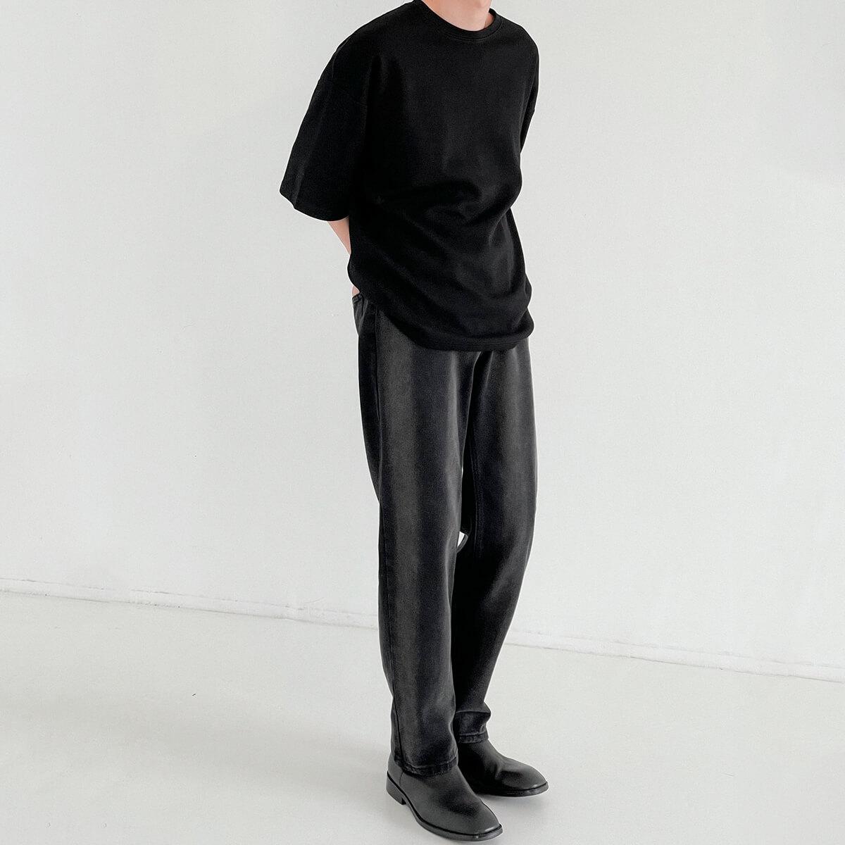Футболка DAZO Studio Vertical Texture Oversize T-shirt (10)