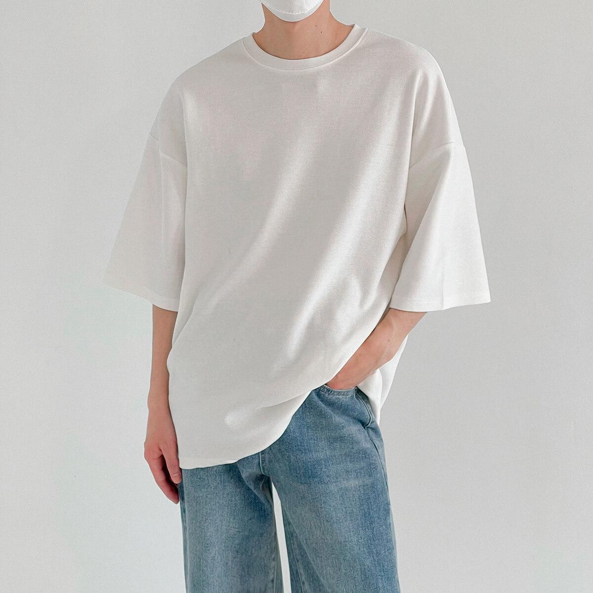 Футболка DAZO Studio Vertical Texture Oversize T-shirt (2)