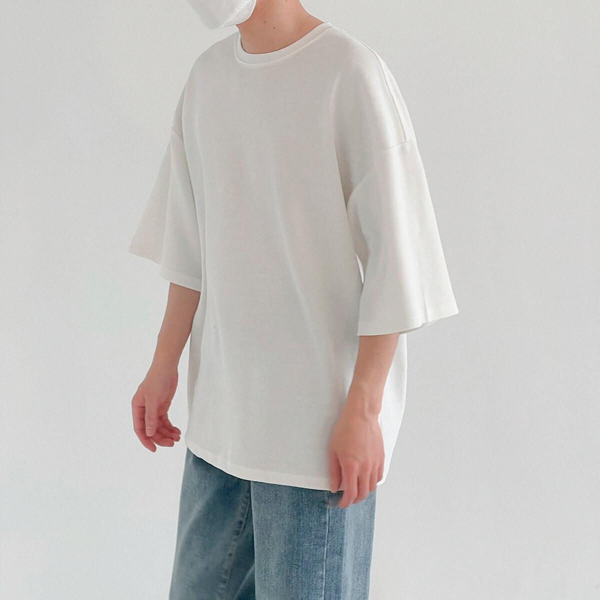 Футболка DAZO Studio Vertical Texture Oversize T-shirt (3)