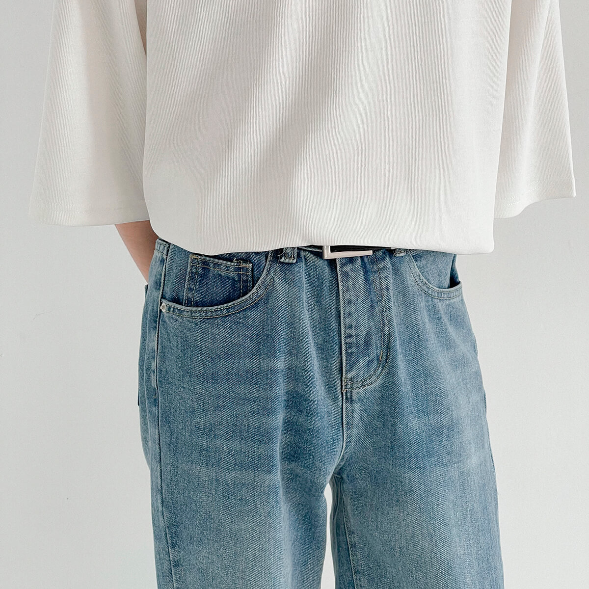 Футболка DAZO Studio Vertical Texture Oversize T-shirt (5)