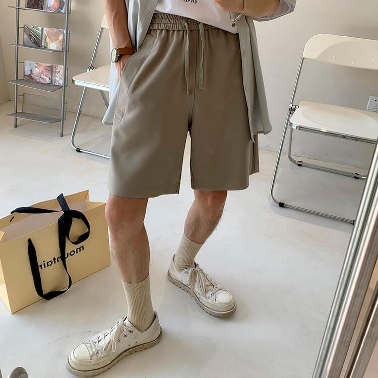 Шорты Attitude Studio Basic Polyester Shorts (1)