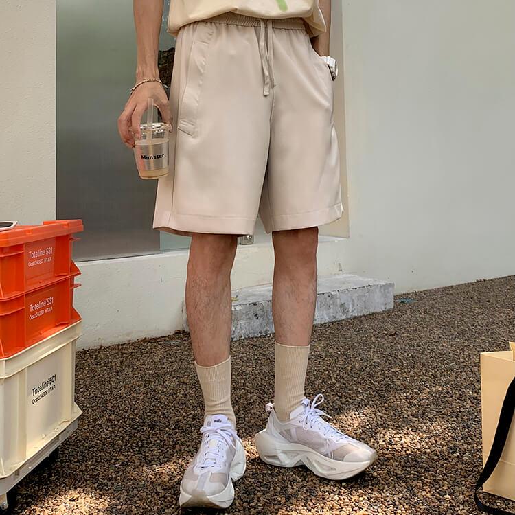 Шорты Attitude Studio Basic Polyester Shorts (11)