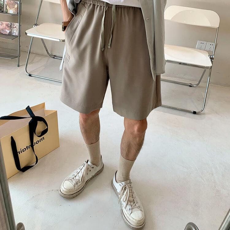 Шорты Attitude Studio Basic Polyester Shorts (2)