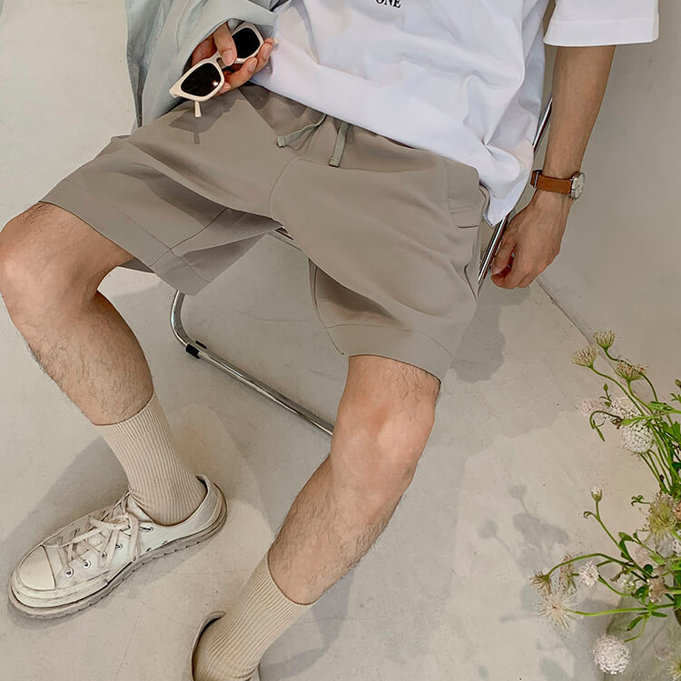 Шорты Attitude Studio Basic Polyester Shorts (5)