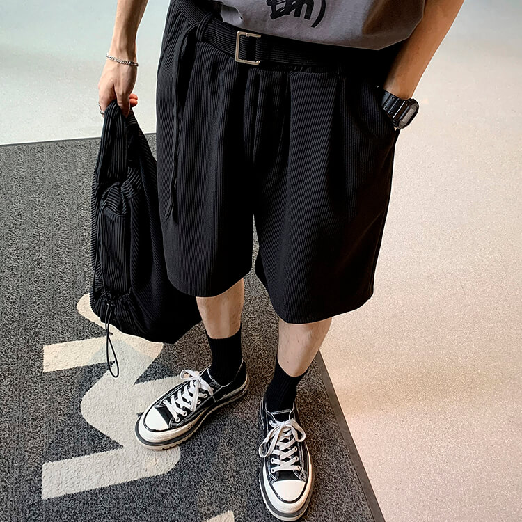 Шорты Attitude Studio Vertical Polyester Shorts (6)