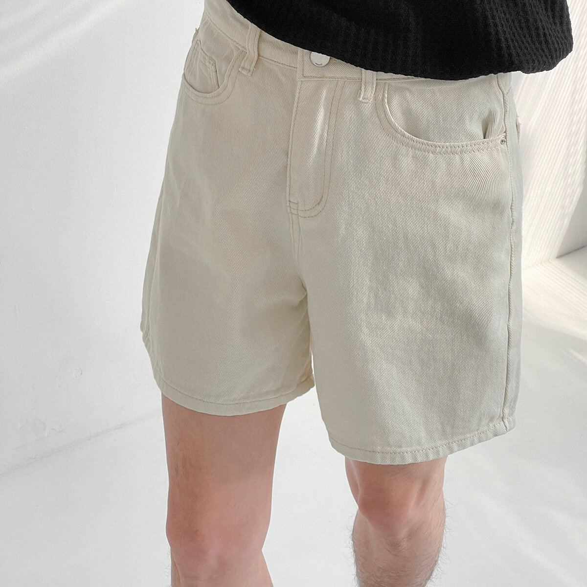 Шорты DAZO Studio Cropped Denim Shorts (1)
