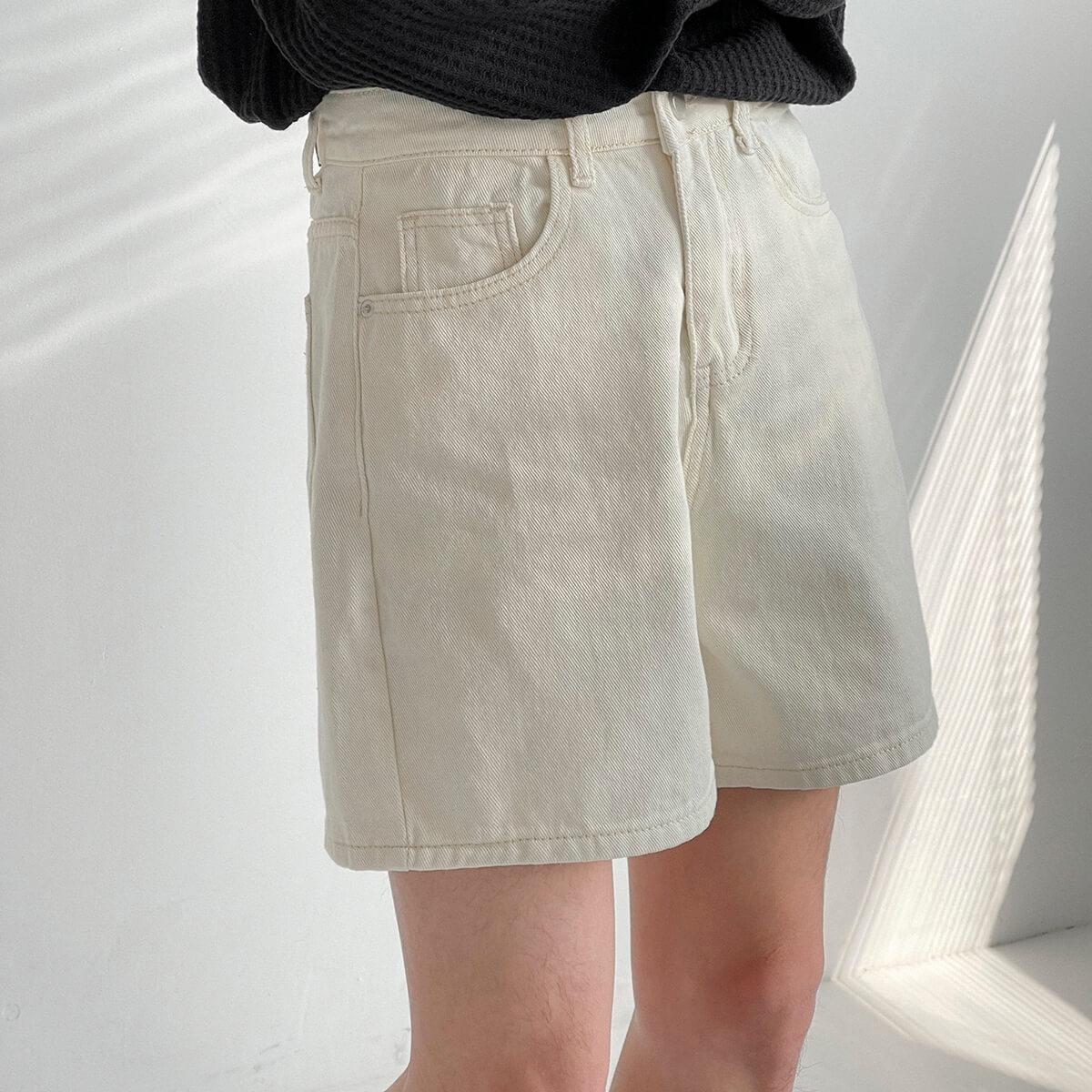 Шорты DAZO Studio Cropped Denim Shorts (2)