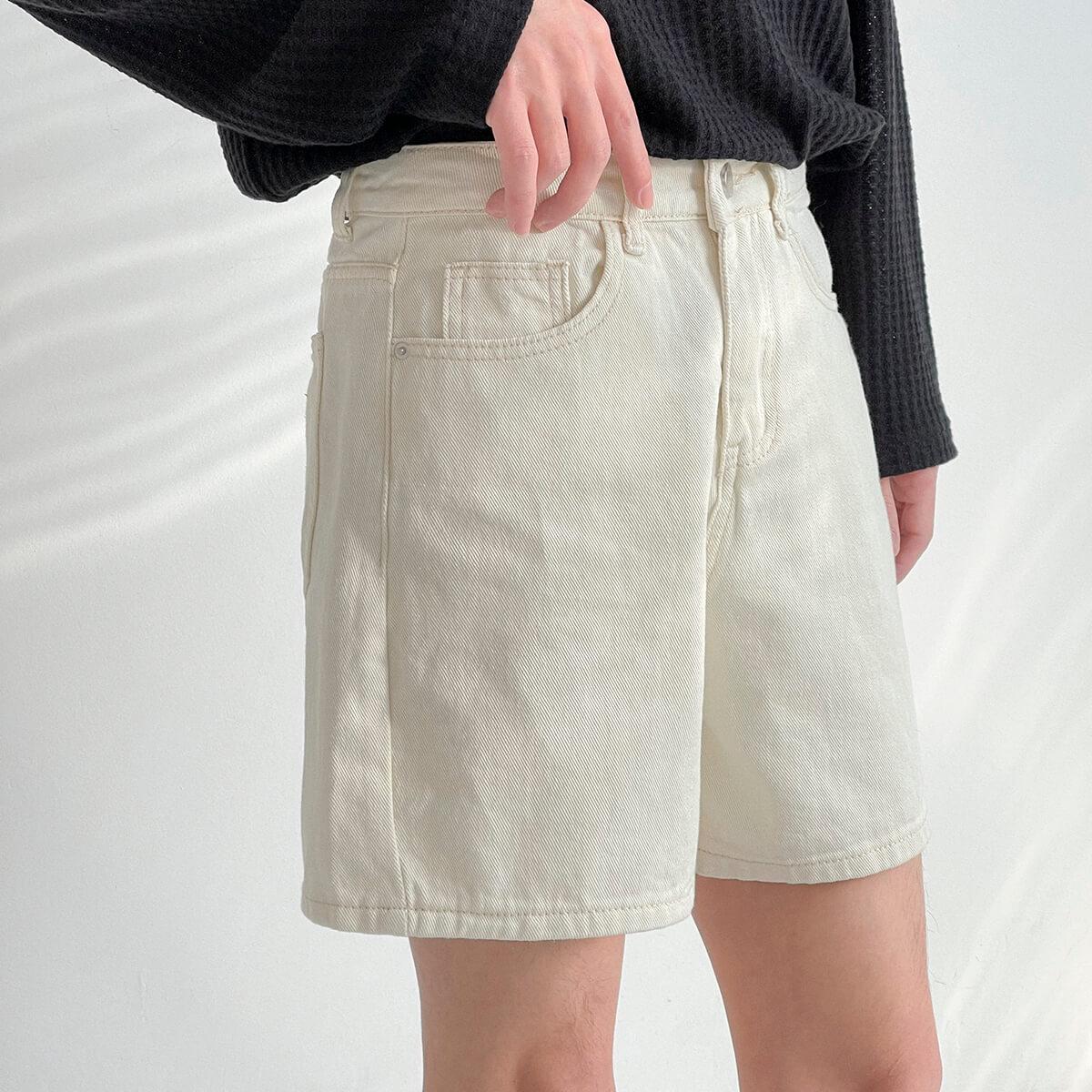 Шорты DAZO Studio Cropped Denim Shorts (3)