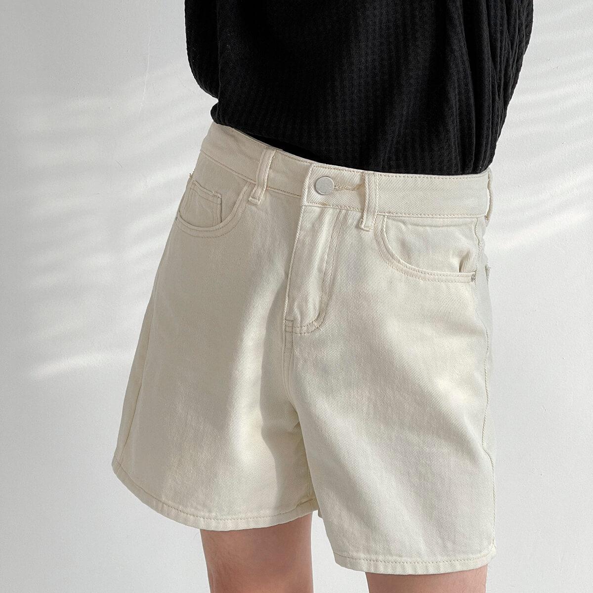 Шорты DAZO Studio Cropped Denim Shorts (4)
