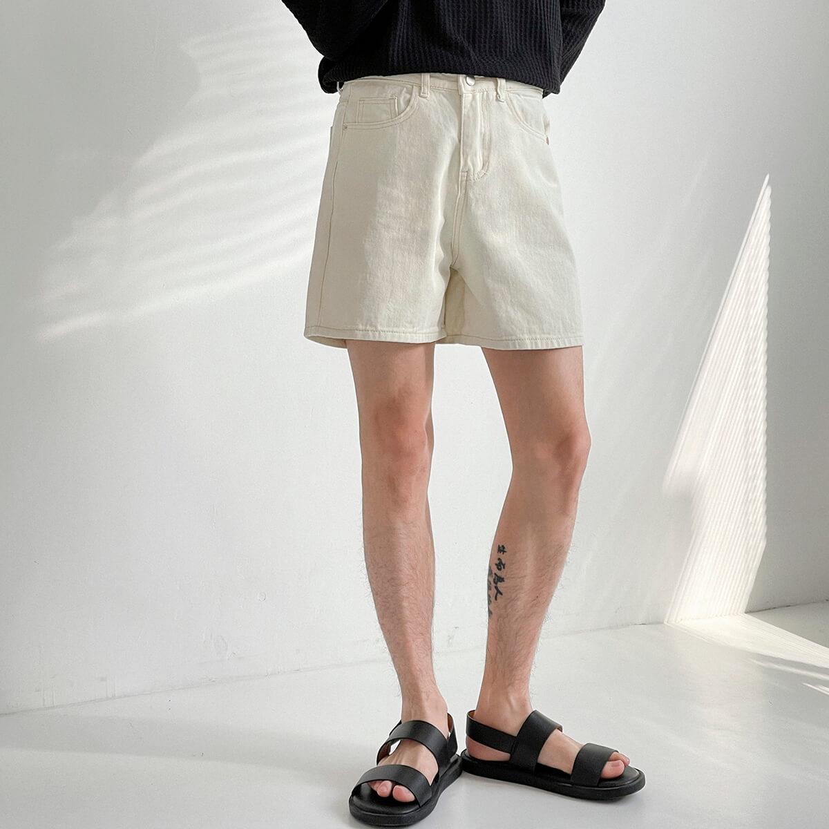 Шорты DAZO Studio Cropped Denim Shorts (5)