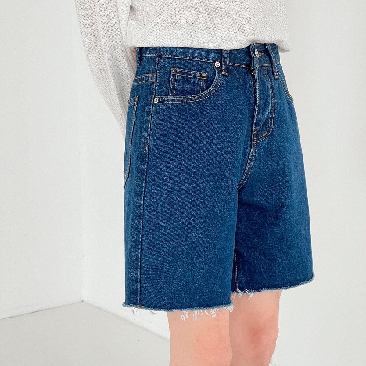 Шорты DAZO Studio Denim Shorts Raw Material (17)