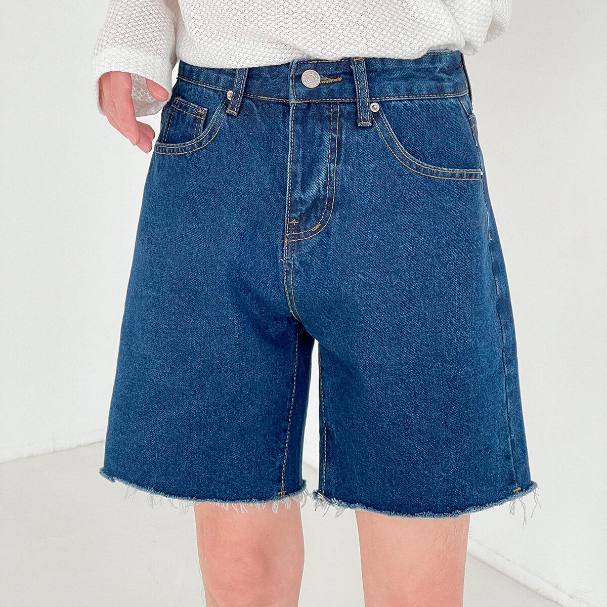 Шорты DAZO Studio Denim Shorts Raw Material (18)