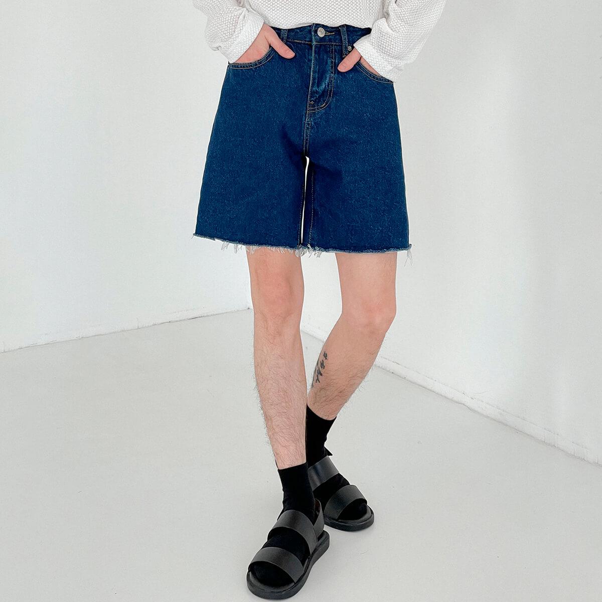 Шорты DAZO Studio Denim Shorts Raw Material (20)