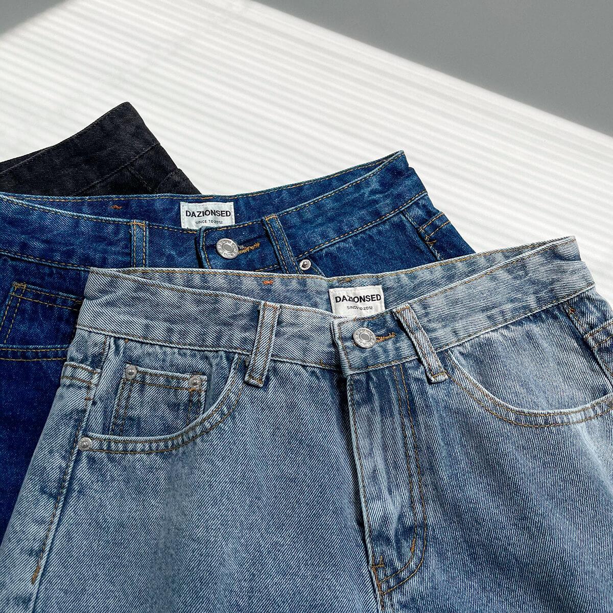 Шорты DAZO Studio Denim Shorts Raw Material (3)