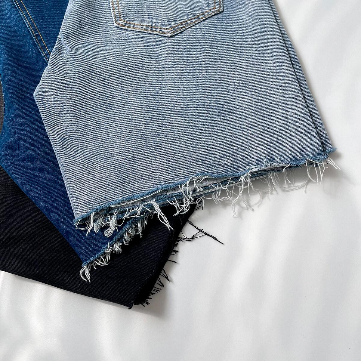 Шорты DAZO Studio Denim Shorts Raw Material (5)